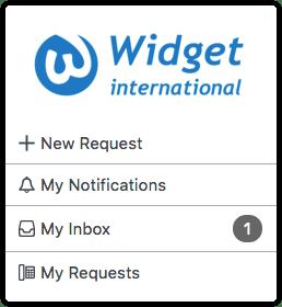 Self Service Inbox menu option