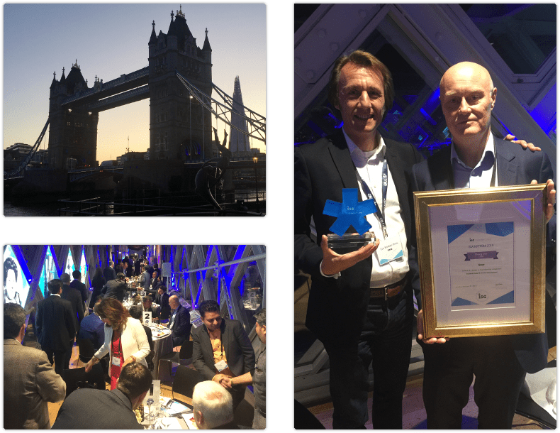 Impressions from ISG awards ceremony in Tower Bridge on October 08 2019
