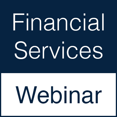 Financial services webinar