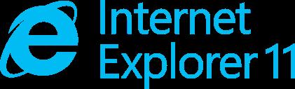Microsoft Internet Explorer 11 logo
