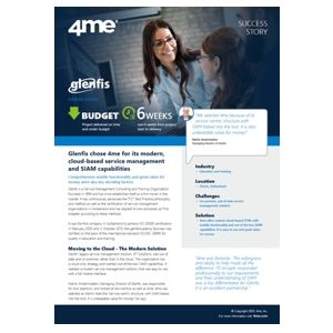4me - Glenfis success story