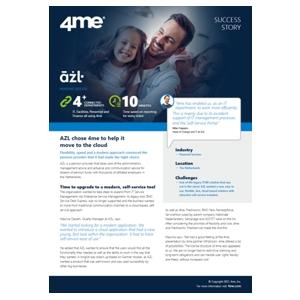 4me success story - azl