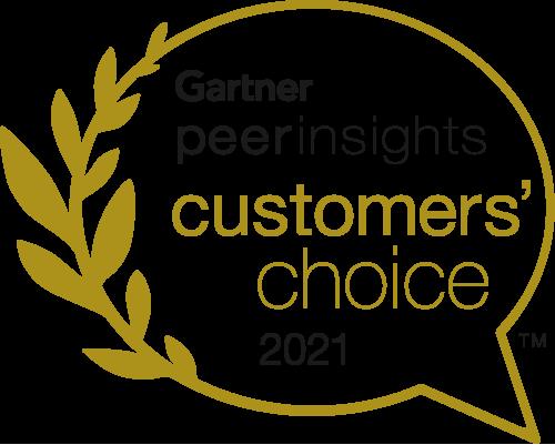 Gartner Peer Insights Customers Choice badge