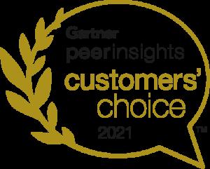 Gartner Peer Insights - Customers Choice 2021