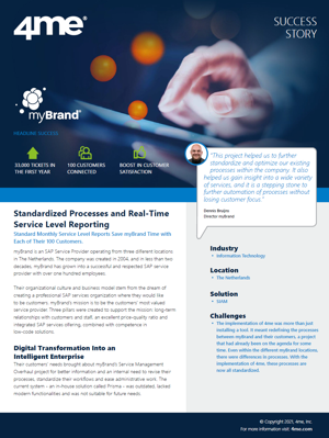 4me - mybrand success story