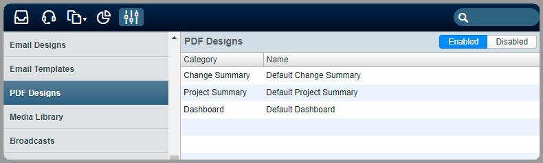 Pdf design templates