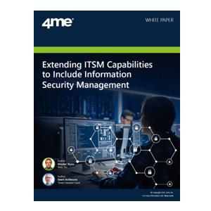4me whitepaper - extend ITSM capabilities