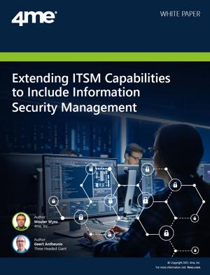 4me whitepaper - Extending ITSM capabilities
