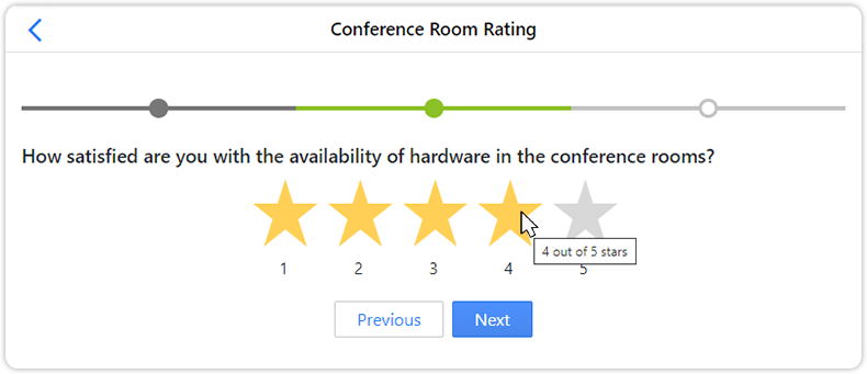 Service star rating question