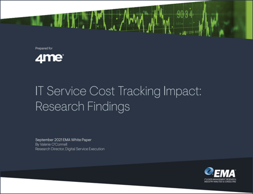 EMA - IT Service Cost Tracking Research