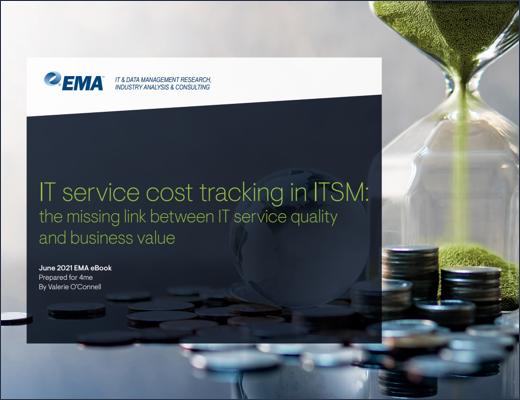EMA - Service Cost Tracking in ITSM ebook